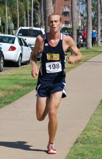 ben rich running for UCSD at balboa park