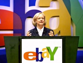 Meg whitman ebay female executive played sports