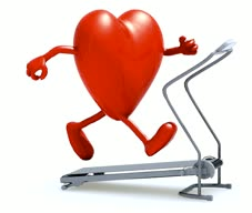 heart on treadmill
