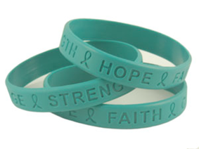 ovarian cancer bracelets